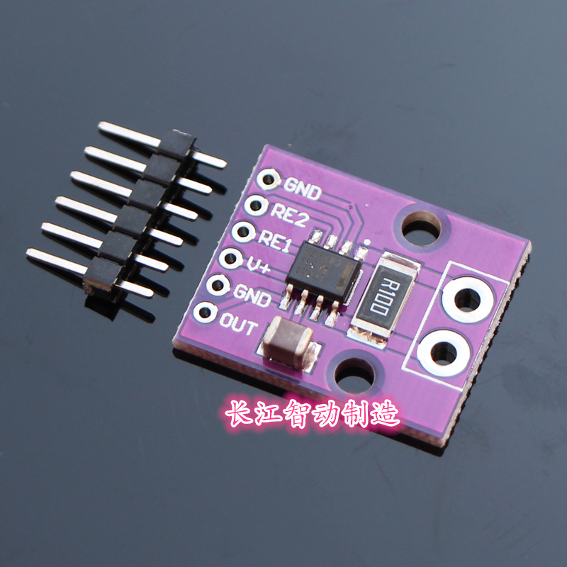 Bidirectional Low//High Side Voltage Output Current Shunt Monitor Module INA282