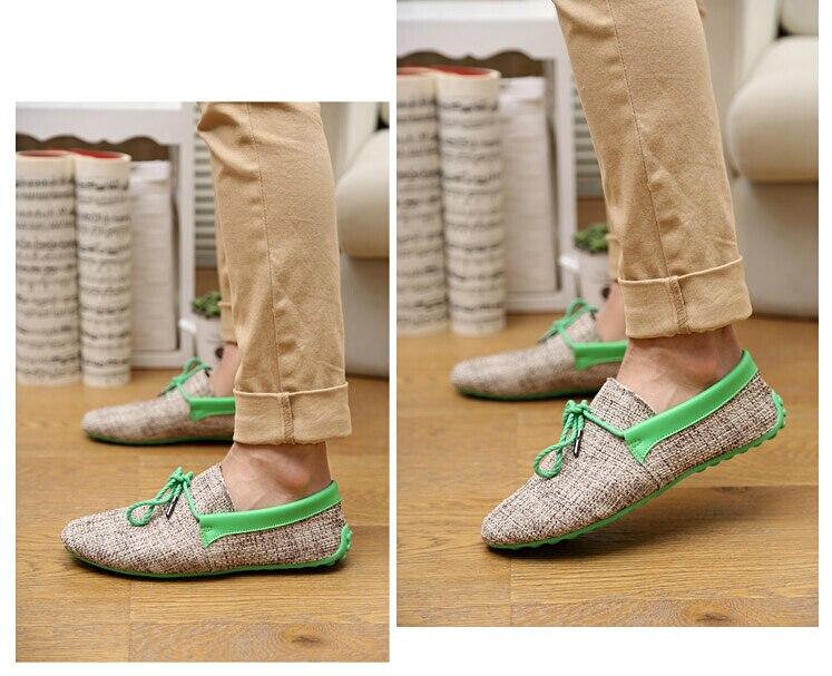 moda tecelagem sapatos casuais macio rendas conforto mocassins condução