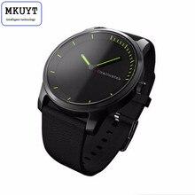 Mkuyt N20 круглый Экран Bluetooth Smart часы браслет кварцевые часы IP68 Водонепроницаемый спортивные часы для IOS Android