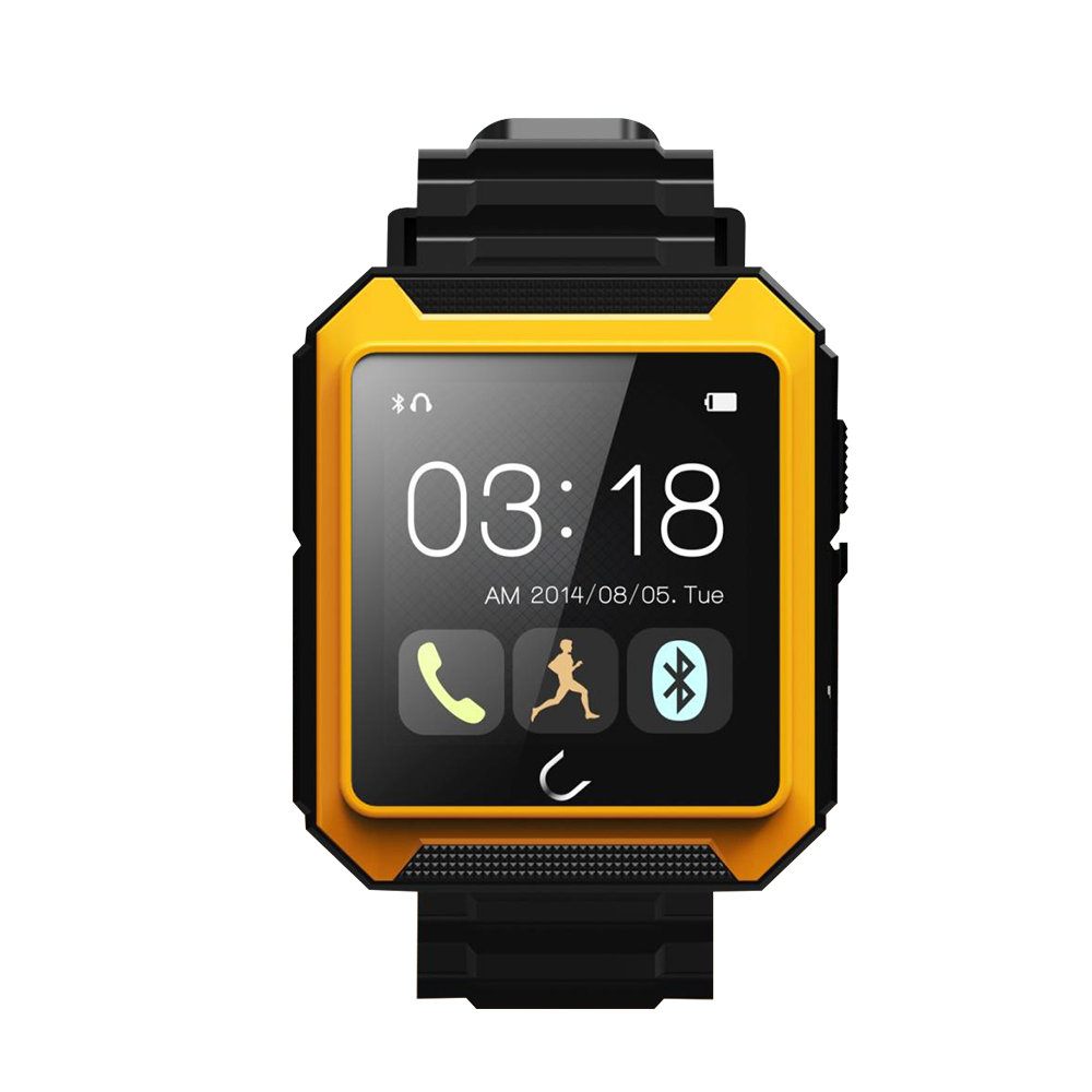 FLOVEME Waterproof Bluetooth Smart Watch IOS Compass Sport Watch Pedometer Intelligent Anti lost Call Remote Camera