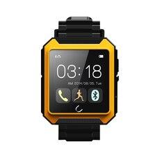 Floveme wasserdichte bluetooth smart watch ios kompass sportuhr schrittzähler intelligente anti-verlorene anruf remote camera smartwatch