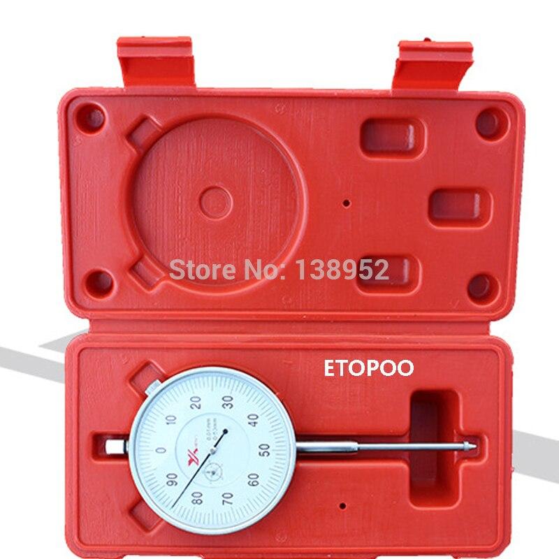 50mm Metric Dial Indicator dial indicator gauge 0 50mm Measuring Tool