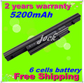 JIGU 5200mAh 6cell Laptop Battery For Acer Aspire 4745G 4820GT 3820T 3820TG 4820T 4820TG 5820TG 5820TG AS3820T AS4820T AS5820G