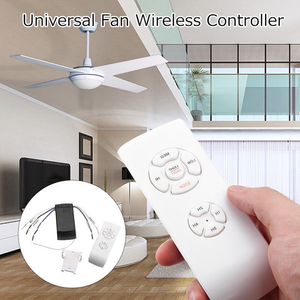Timing Wireless Control Switch Universal Ceiling Fan Lamp Remote Control Kit 110 240v Adjusted Wind Speed Transmitter Receiver Home Automation Modules Aliexpress