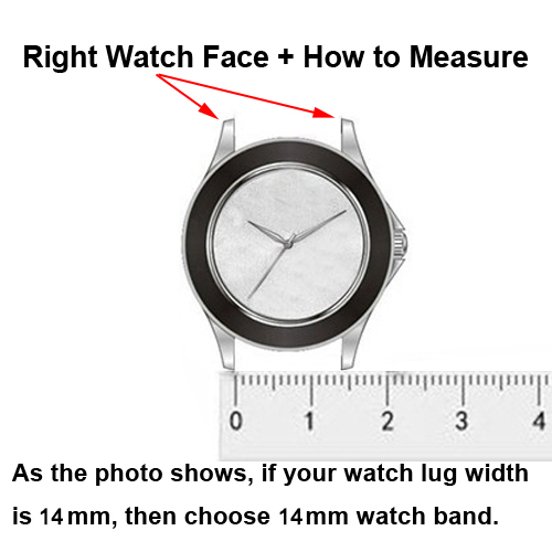 RIGHT WATCH FACE 14MM