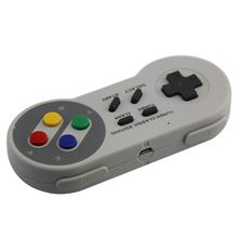 Wireless Controller For Bluetooth Adapter Gamepads Classic 2.4G Game Handle Supporting For Nes/Snes/Wii(China)