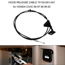 HOOD RELEASE CABLE 74130-S01-A01 for HONDA CIVIC 96 97 98 99 00 Canopy cable Car Styling Car Accessories