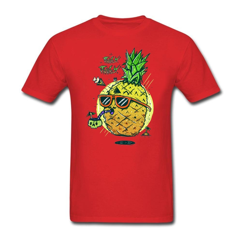 Shirts human design - Juicy Pineapples Mens Juicy Human Skulls Streetwear Tshirt Men Promotion T Shirt Painting O Neck