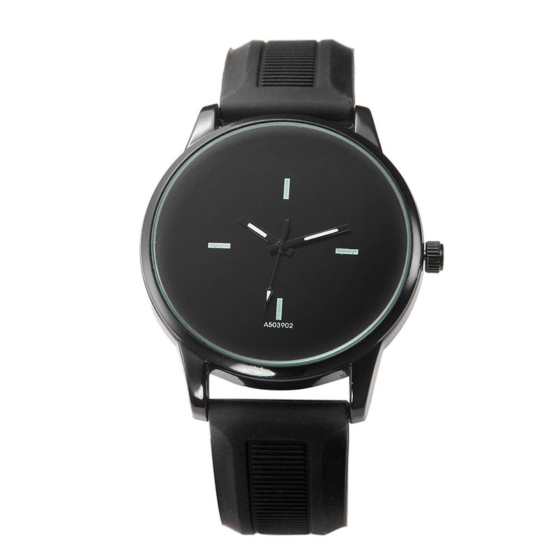 Simple Big Dial Couple Men Women Watch Delicate Lover's Quartz Casual Wristwatch PU Leather Straps Watch  LL