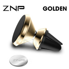ZNP Magnetic Car Phone Holder For iPhone XS X Huawei Air Air Vent Magnet Mount C