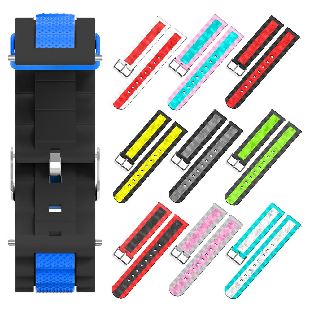 Replacement Strap For Huami Amazfit Bip Silicone Soft Wrist Band Bracelet For Huami Smart Watch Accessories Wirstband in Smart Accessories from Consumer Electronics