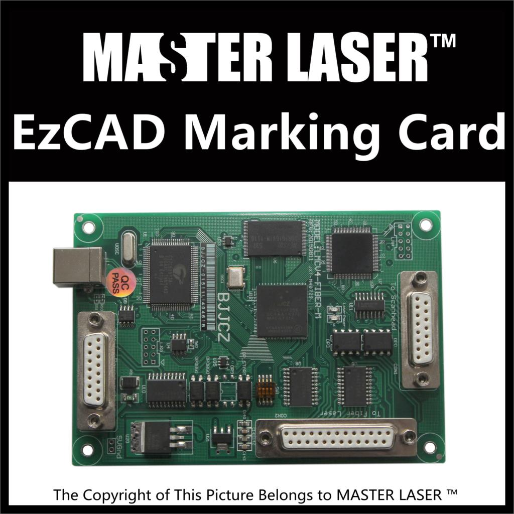Lasted Marking Machine Control Software Simple Economic V4 Ezcard for 1064nm Fiber Marking Machine IPG Laser Marking Card