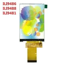 Ips 3.5 polegada tft lcd painel de toque 320x480 resolução ili9488 ili9486 ili9481 controlador destaque
