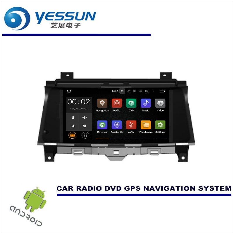 YESSUN Wince / Android Car Multimedia Navigation System For Honda For Accord 2008-2012 GPS Player Navi Radio Screen no CD DVD yessun car android navigation system for hyundai i20 click 2008 2014 radio stereo cd dvd player gps navi screen multimedia