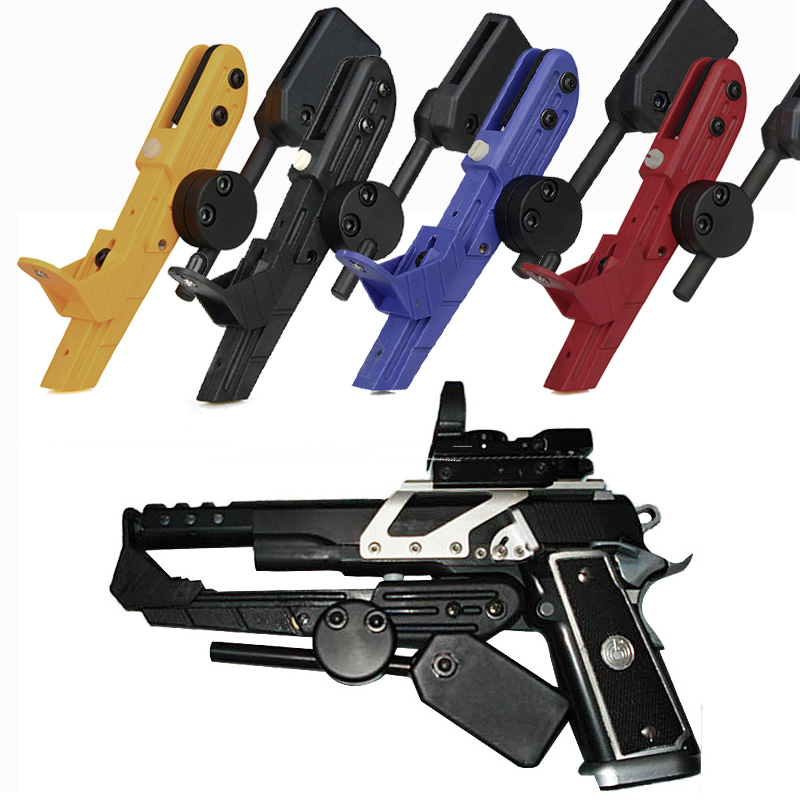 Tactical Blue Black Red Yellow IPSC Style Universal CR Speed ​​Holster para el deporte al aire libre OS7-0021