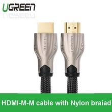 Новый Ugreen версии premium HDMI кабель 1 м 2 м 3 м между мужчинами 1.4 В 3D для apple TV Android ноутбук PS4 Xbox 360 PS3 к ТЕЛЕВИЗОРУ Проектора
