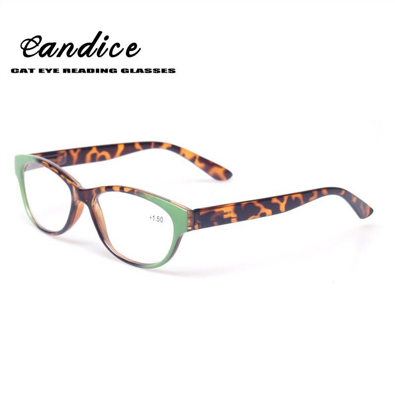 Reading Glasses Women Cat Eye Glasses Retro Vintage Plastic Frame Eyewears Spring Hinge Women Presbyopia Glasses