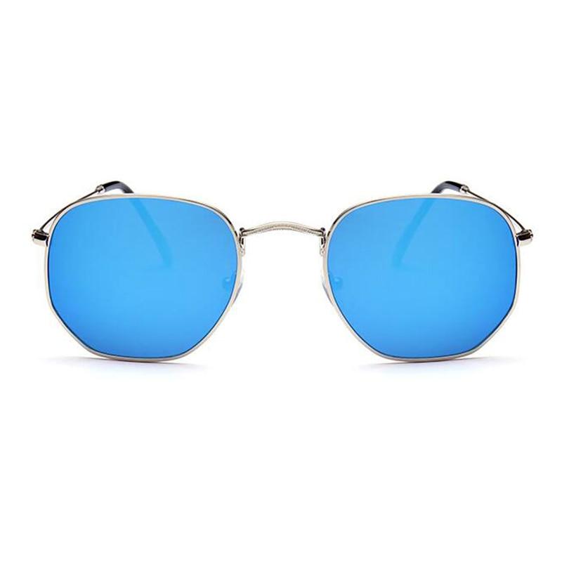 hexagon Sunglasses Women Brand Designer Men Glasses