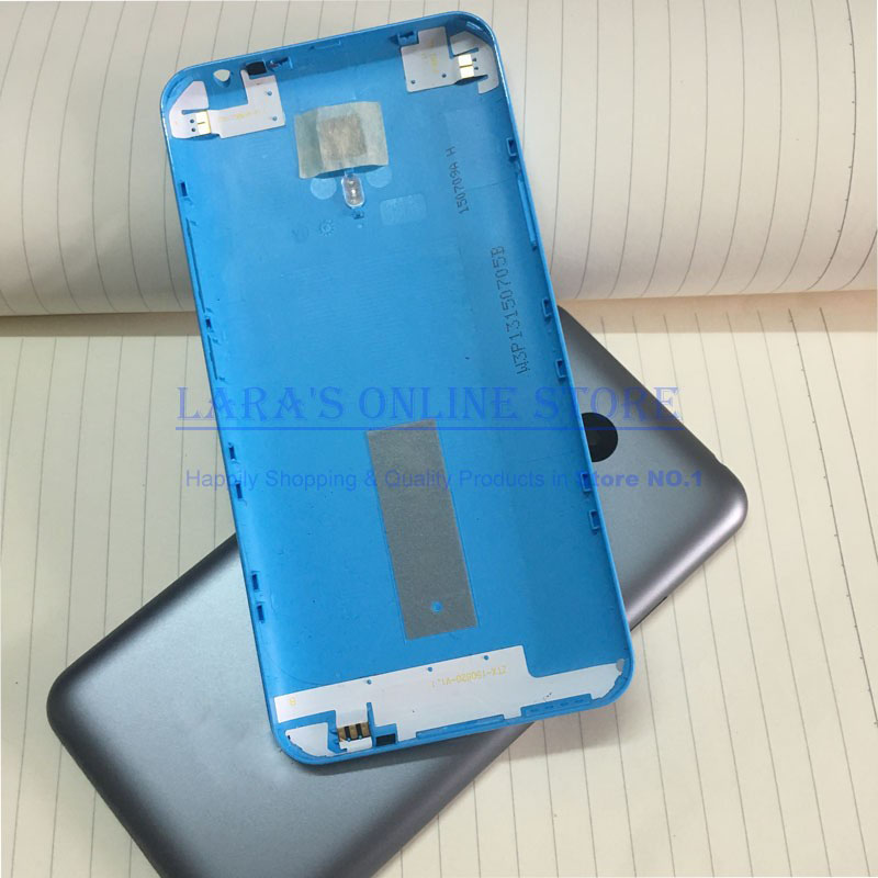 AAA New <font><b>Battery</b></font> Cover for <font><b>MEIZU</b></font> <font><b>M2</b></font> <font><b>NOTE</b></font> 5.5 Inch Back Housing Door Case With Antenna+Camera Glass Lens (NO BUTTONS) Spare Parts