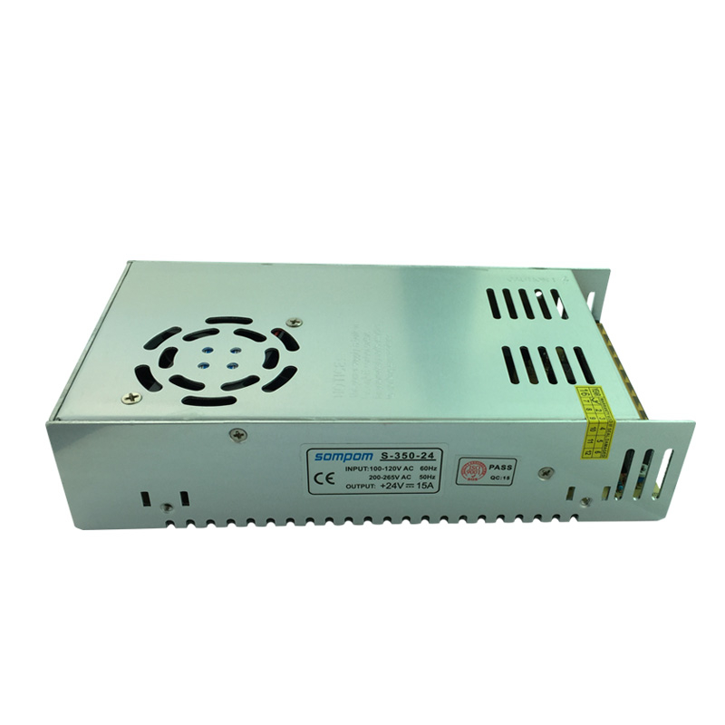 24V power supply AC to DC motor power supply 24V 15A meanwell 24v 60w ul certificated lpv series ip67 waterproof power supply 90 264v ac to 24v dc