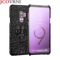 JOVANI JCOVRNI Luxury 100 Leather Crocodile Embossed For Galaxy S8 S8plus Back Cover For Galaxy S9