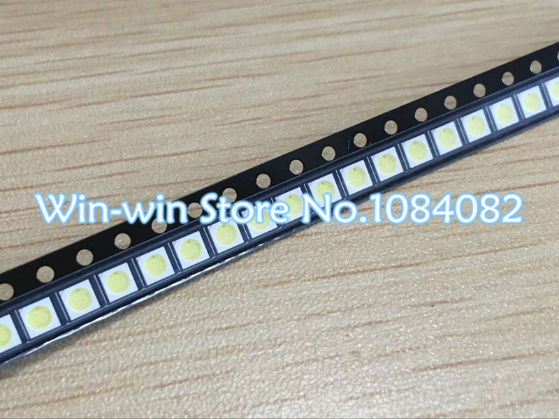 100pcs Lextar LED Backlight High Power LED 1.8W 3030 6V Cool white 150-187LM PT30W45 V1 TV Application 3030 smd led diode(China)