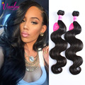 7a Unprocessed Virgin Hair Peruvian Body Wave Hair Bundles 1pc/100g Brown Peruvian Virgin Hair Body Wave 8-30 Inches Jet Black