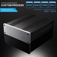 YGKT 168 54 200mm WxHxL Eightwood Aluminum DIY Electronic Box Enclosure Case