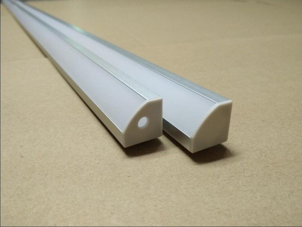 Nemokamas pristatymas 100vnt / lot 2Meter ilgio LED aliuminio - LED Apšvietimas - Nuotrauka 1