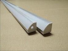 Free shipping 100pcs/lot 2Meter length led aluminium profile for LED Strip LED Light Bar square 18mm*18mm aluminum profile