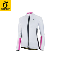 New cycling jersey long sleeve Women Bike jersey Cycling clothing Female MTB Top Ropa Ciclismo Maillot Riding Shirts EMONDER