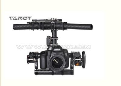 Tarot TL100AAA 3 axes support de caméra cardan avec servos, DSLR 5D 5D2 marque aérienne photo - 2