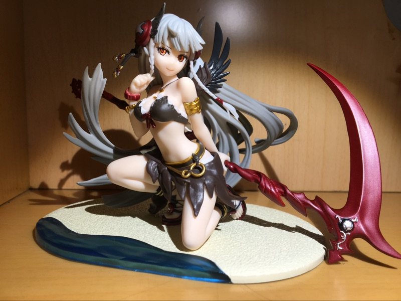 ФОТО Puzzle & Dragons Action Figure DXF Valkyrj Anime Game Puzzle & Dragons Model Toys 150MM Valkyrj Figure Toy Original