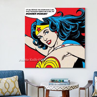 Pop Art painting on canvas Street Art Andy Warhol Oil painting Hand painted Wall art Pictures for living Room home decoration03