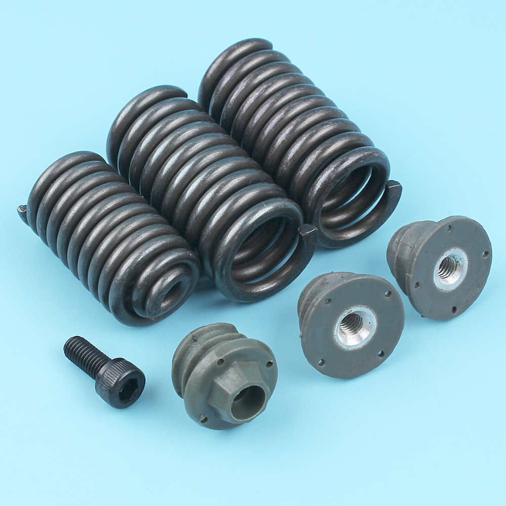 AV Spring Buffer Mount Antivibe Cap Set Fit HUSQVARNA 362 365 371 371XP 372 372XP Chainsaw 503 63 75-02 / 503 89 56-01 NEW Parts