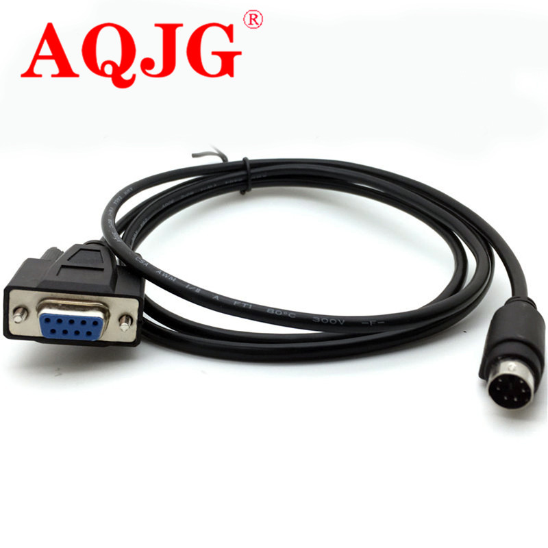 Customized PS2 to COM port line Round 6 pin to DB9 hole serial line PS2 to RS232 cable 3m 12x serial port connector rs232 dr9 9 pin adapter male