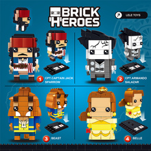 Здесь можно купить  Brick Heroes Square Head Belle Beauty and Beast Children