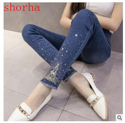 Maternity Jeans For Pregnant Women Pregnancy summer and autumn Jeans Pants Maternity Clothes For Pregnant Women Nursing Trousers