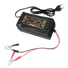 Car Battery Charger 12V 6A 10A Intelligent Full Automatic Auto Smart Fast Power Charging For Wet Dry LCD Display