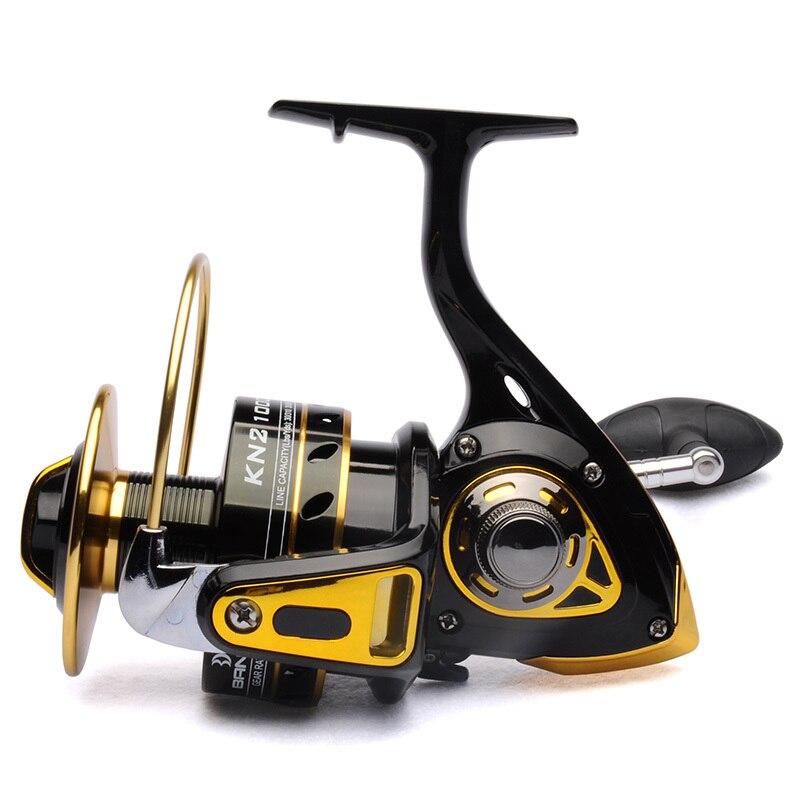 Big game fishing reel spinning reel 10000 11BB 4 2 1 front drag BANDO KN2 Black