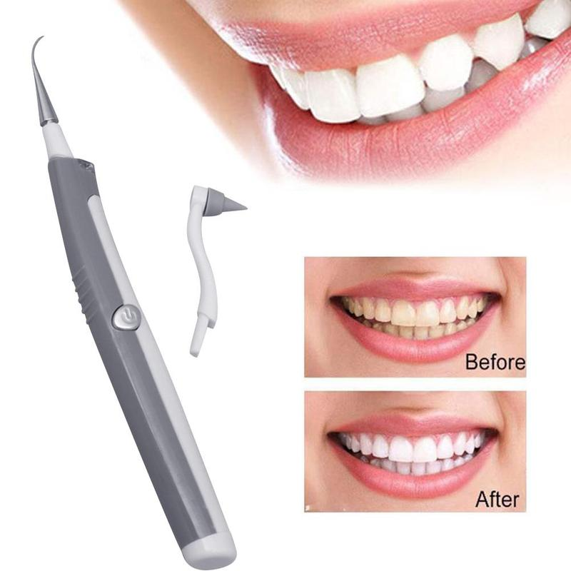 Sonic Electric Tooth Stain Eraser Tool Dental Plaque Remover Teeth Whitening Cleaning Dental Scaler Tooth Pick
