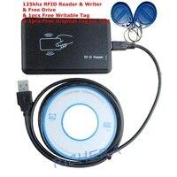 proximity-rfid-usb-125khz-reader-writer-copier-em4305-em4100-card-duplicator-1pcs-free-rewritable-tag