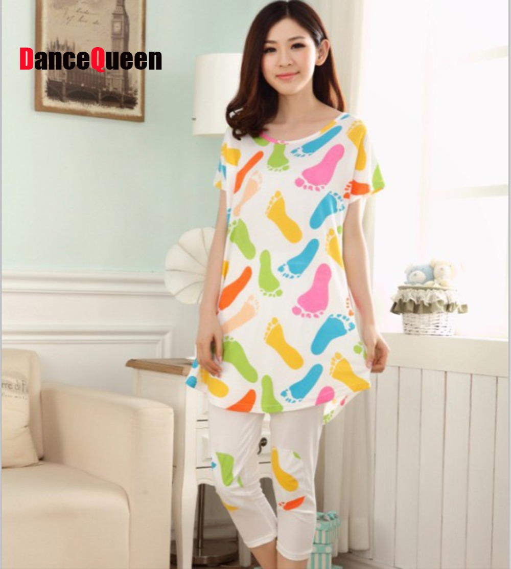 2014 new summer cotton women pajama sets indoor clothing free shipping sleepwear women onesies for adults