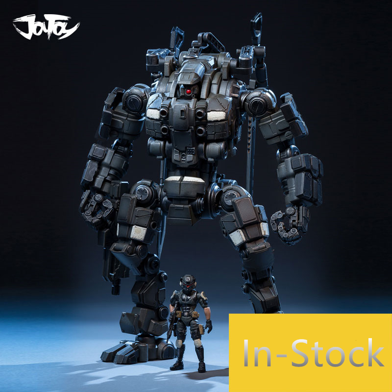 Genuine JOY TOY 1 25 figures robot action military Mecha model HZ DOUBLE KNIFE Super movable
