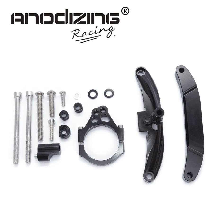 Pour Yamaha FZ1 FAZER 2006-2015 motos réglable direction stabiliser amortisseur Support Support Kit accessoires