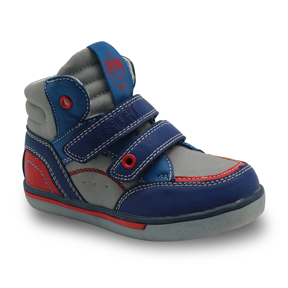 Apakowa Spring Autumn Fashion Children Boots Kids Boys Casual Boots Shoes Boys Sneakers Brand Sport Shoes Rubber EU 21-32