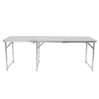 180 x 60 x 70cm Aluminum Alloy Folding Table – US Stock