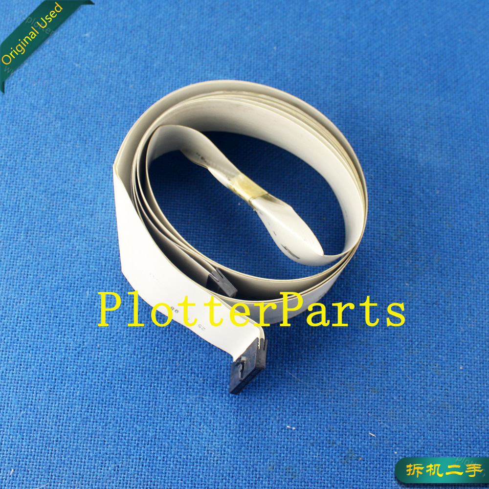 C4713-69181 C4713-60181 C3190-60038 Trailing cable 24inch(D-size) for HP DesignJet 230 250C 330 350 430 450C 455CA 488CA used c3174 40011 hp designjet 330 430c 450ca 455ca 488ca spindle end cap 2 inch compatible new