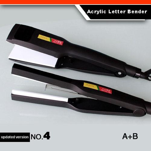ФОТО Updated Version NO.4  Acrylic Channel Letter Bender PVC Plastic Bender Luminous Letter Bending Tool Arc/Angle Shape Bender 1 Set