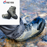 Breathable fishing wading shoes, wader shoes, felt sole wader boots, quick drying fishing boots, hunting shoes for waders